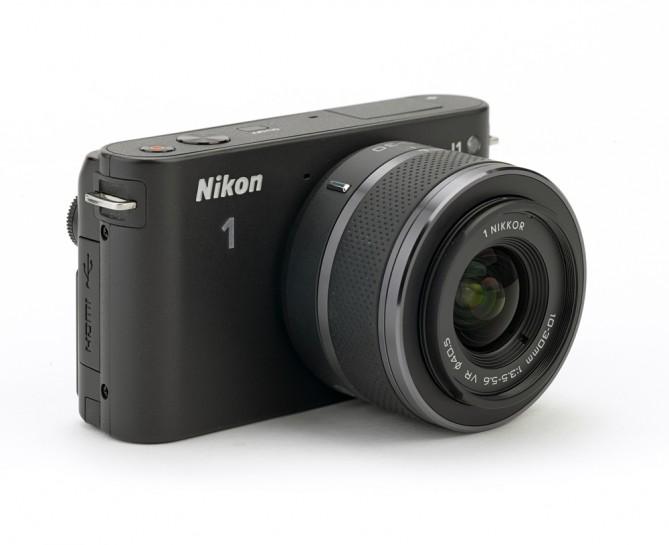 Nikon 1J1 тест в полевых условиях