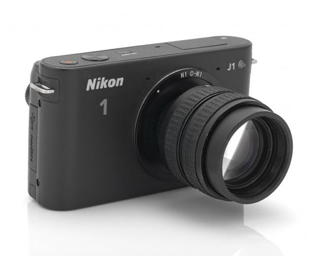 Бюджетная C-mount оптика на Nikon 1